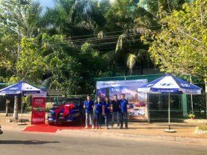 Trưng bày và giới thiệu Hyundai Kona tại thị xã Lagi