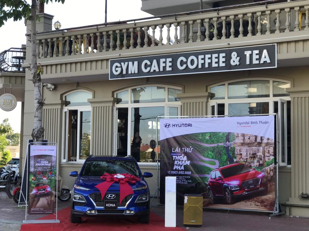 Trưng bày và giới thiệu Hyundai Kona tại Gym Cafe - Phan Thiết