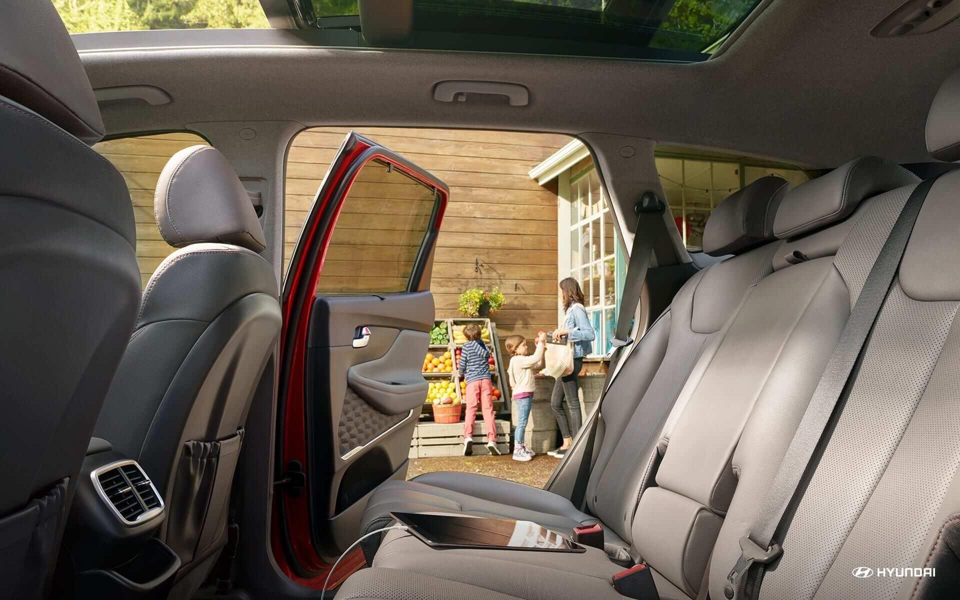 Hyundai SantaFe 2020 - Ghe thu 2