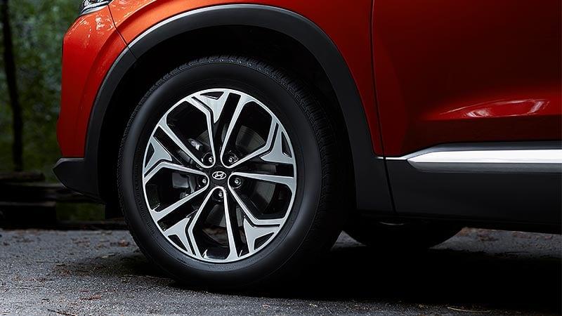 Hyundai SantaFe 2020 - Lazang bánh xe