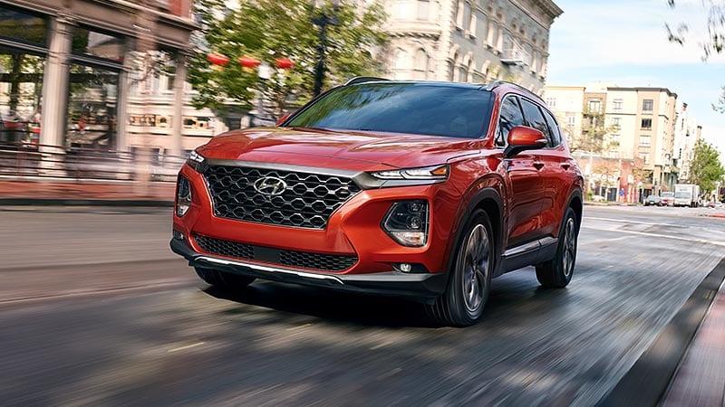 sở hữu một chiếc ô tô Hyundai Santafe 2020