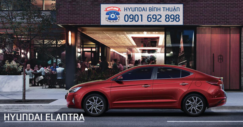Giá lăn bánh Hyundai Elantra 2020 - Thân xe