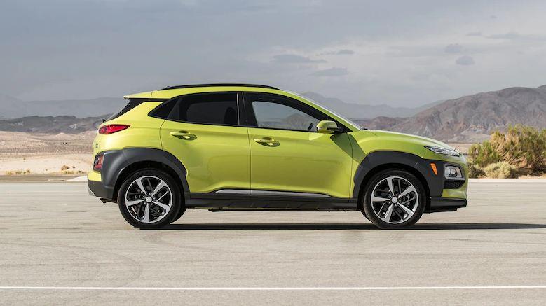 Hyundai Kona 2020 - thân xe