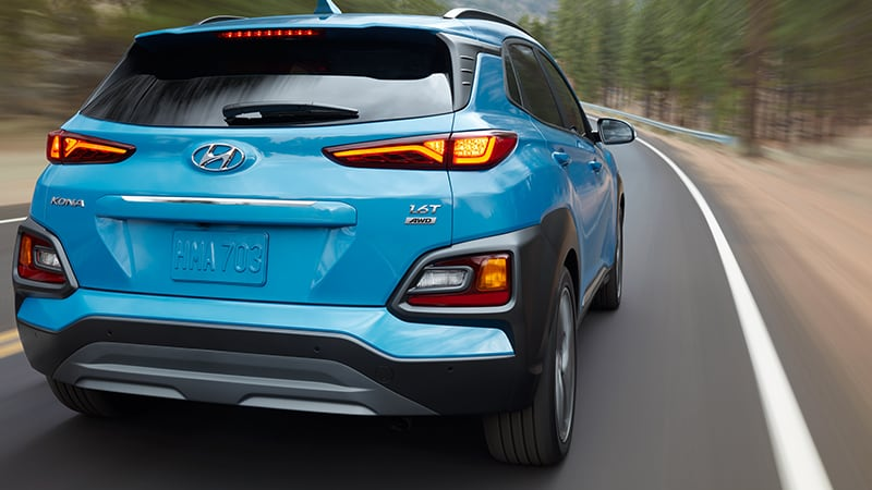 Hyundai Kona 2020 - đuôi xe