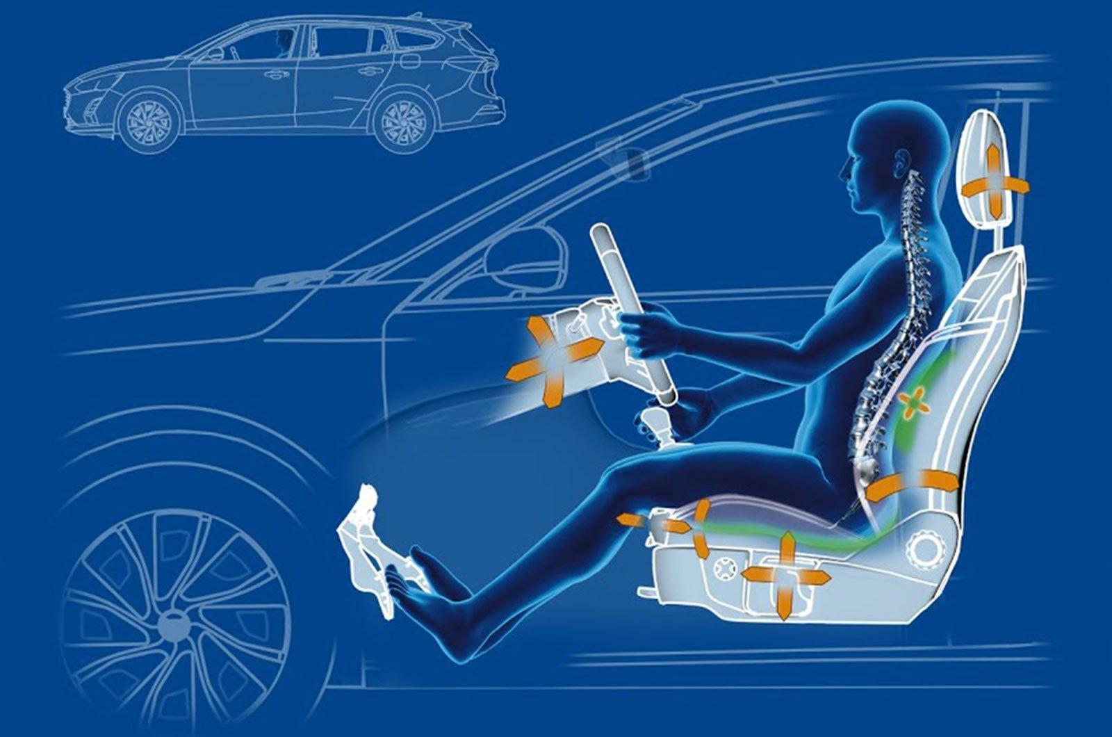 Gợi ý tuyệt chiêu giúp người lái ô tô không bị đau lưng