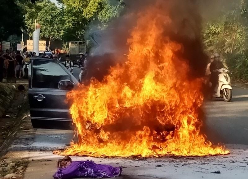 Nguyên nhân dẫn đến cháy nổ ô tô bạn cần biết