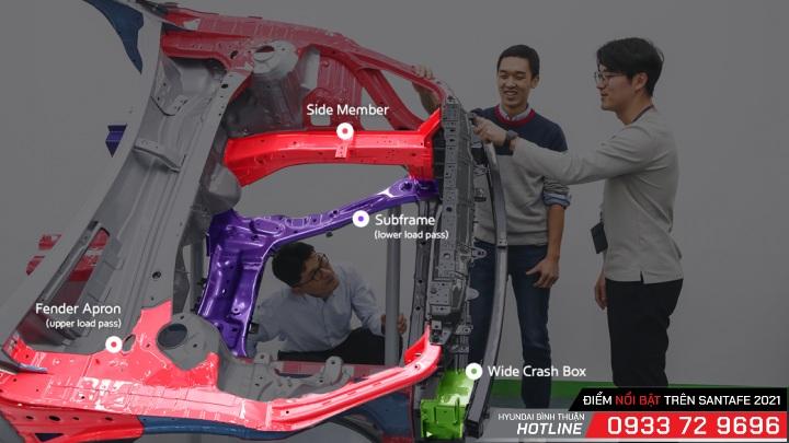 5 điểm nhấn nổi bật trên mẫu Hyundai Santa Fe 2021 mới